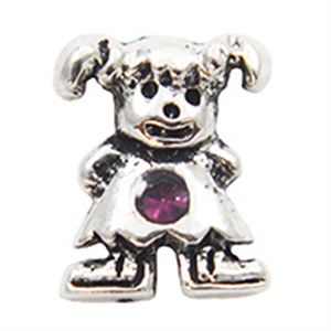 Picture of February Girl Birthstone Charm