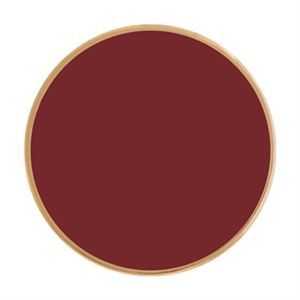Picture of Medium Burgundy Enamel Coin